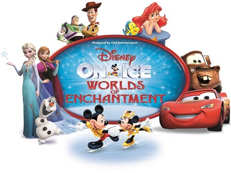 Disney On Ice: Worlds of Enchantment at Oracle Arena