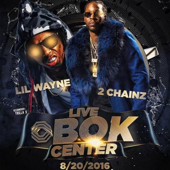 Lil Wayne & 2 Chainz: Collegrove Tour at Oracle Arena