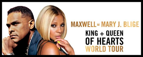 Maxwell & Mary J. Blige at Oracle Arena
