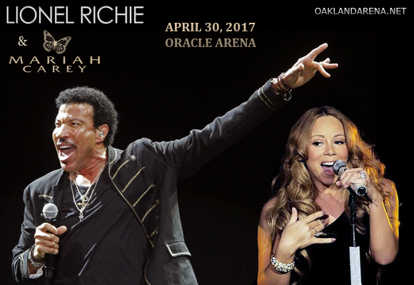 Lionel Richie & Mariah Carey at Oracle Arena