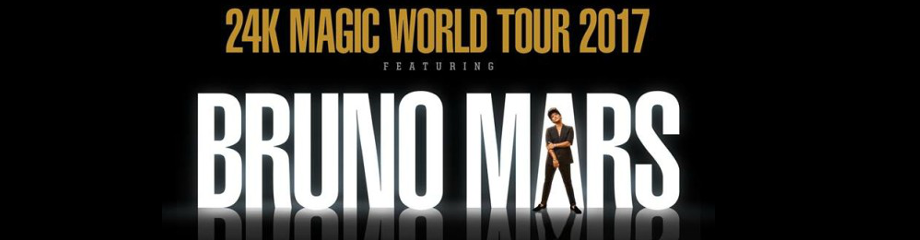 Bruno Mars at Oracle Arena