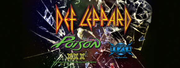 Poison & Tesla  at Oracle Arena