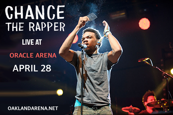 Chance The Rapper at Oracle Arena