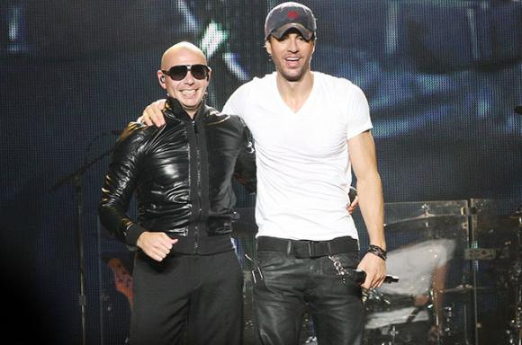 Enrique Iglesias, Pitbull & CNCO at Oracle Arena