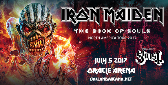 Iron Maiden & Ghost at Oracle Arena