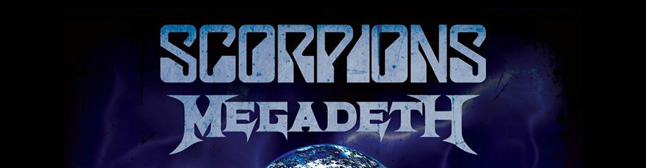 Scorpions & Megadeth at Oracle Arena