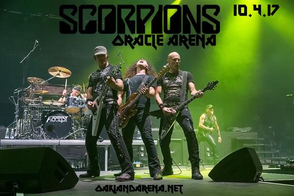 Scorpions & Megadeth at Oracle Arena