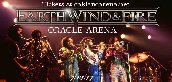 Earth, Wind and Fire at Oracle Arena