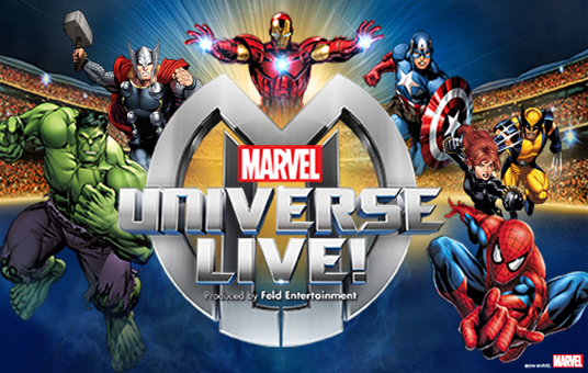 Marvel Universe Live! at Oracle Arena