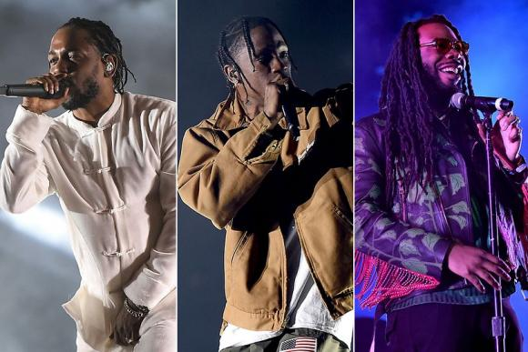 Kendrick Lamar, Travis Scott & D.R.A.M. at Oracle Arena