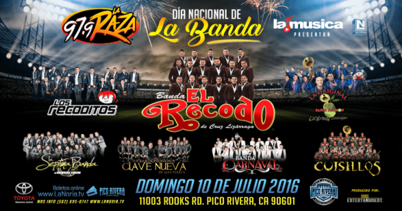 Dia Nacional De La Banda at Oracle Arena