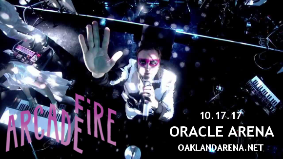 Arcade Fire at Oracle Arena