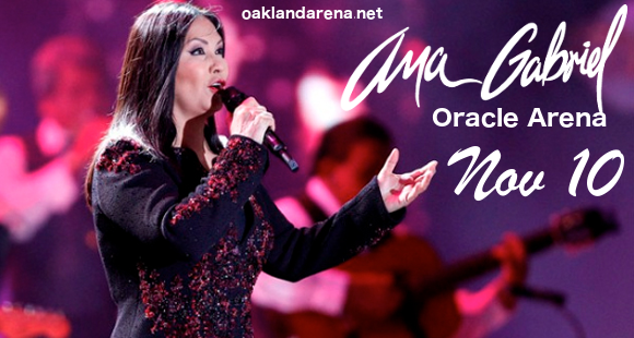 Ana Gabriel at Oracle Arena