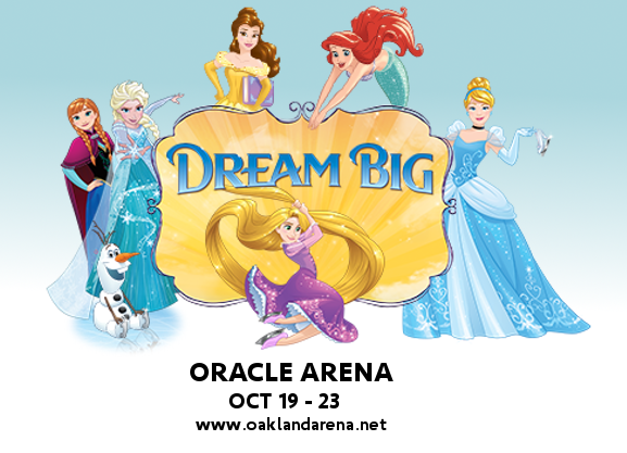 Disney On Ice: Dream Big at Oracle Arena