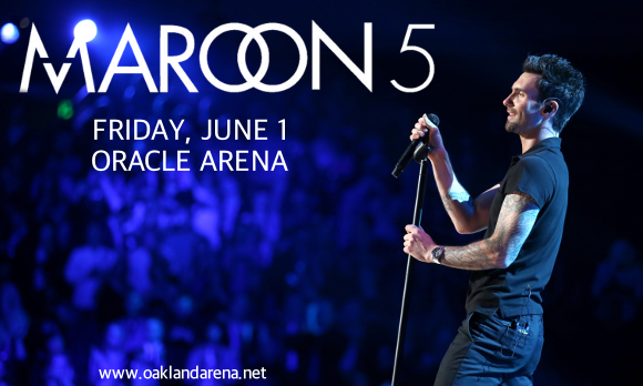 Maroon 5 & Julia Michaels at Oracle Arena
