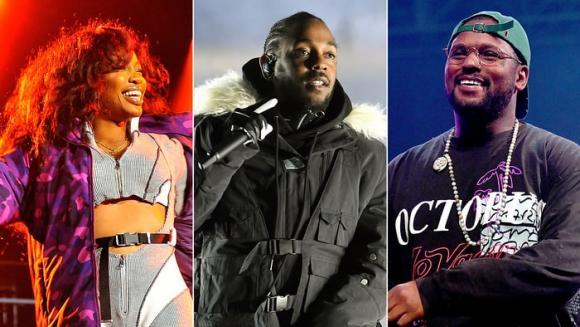Kendrick Lamar, SZA & Schoolboy Q at Oracle Arena