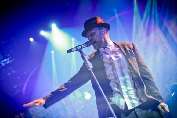 Justin Timberlake at Oracle Arena