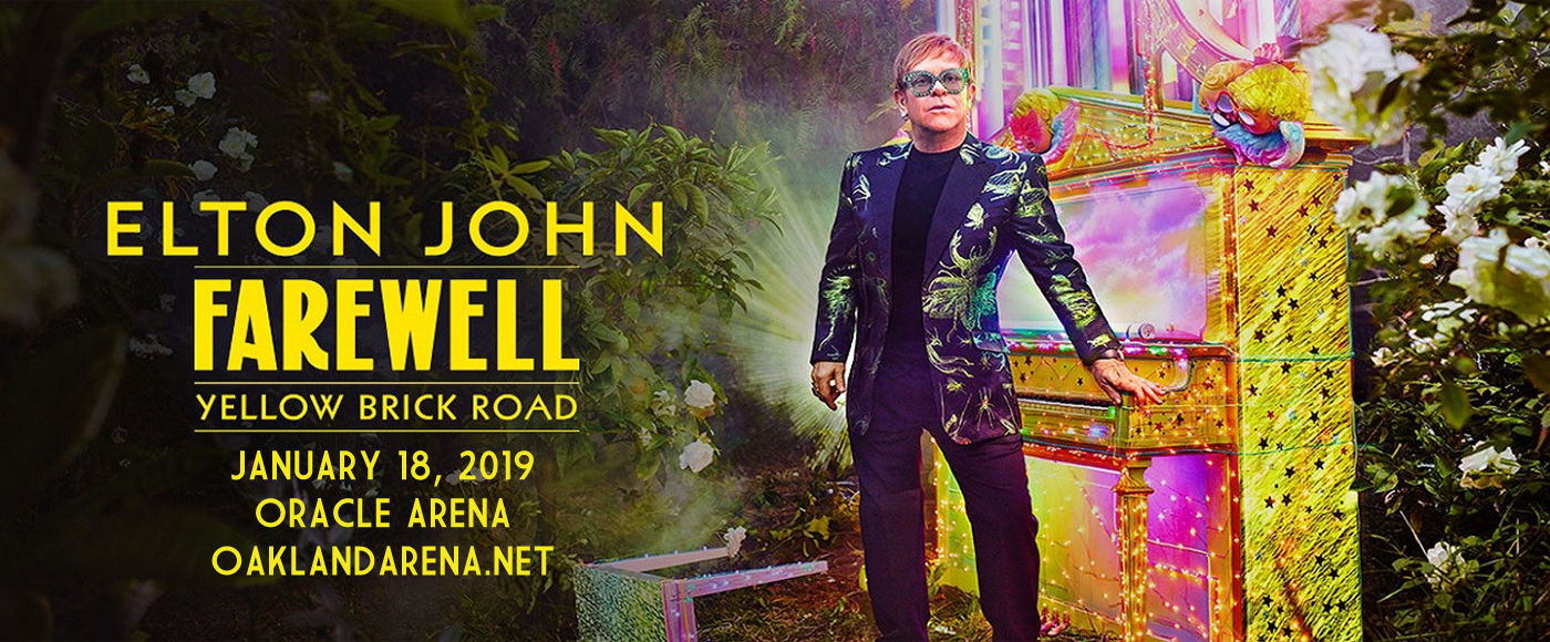 Elton John at Oracle Arena