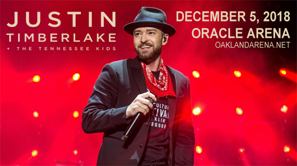 Justin Timberlake at Oracle Arena
