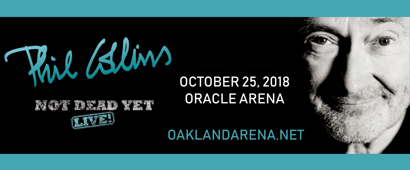 Phil Collins at Oracle Arena