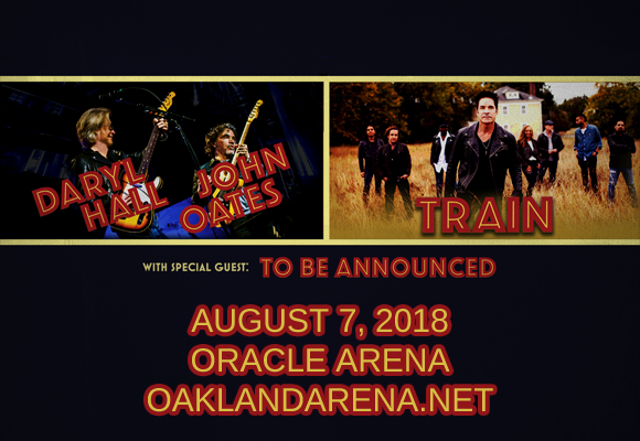 Hall and Oates & Train at Oracle Arena