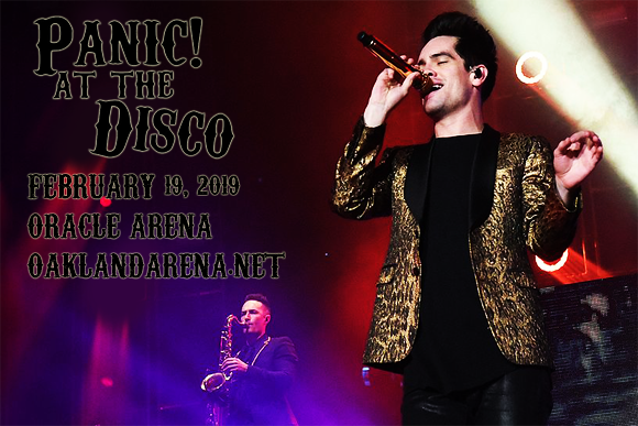 Panic! At The Disco & Two Feet at Oracle Arena