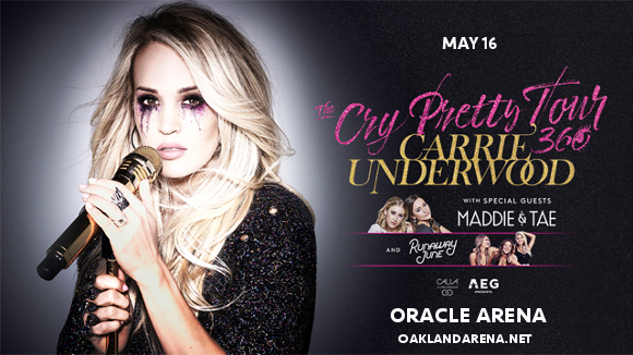 Carrie Underwood, Maddie and Tae & Runaway June at Oracle Arena
