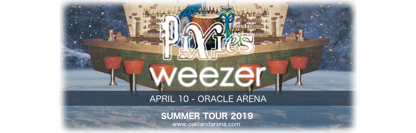 Weezer & Pixies at Oracle Arena