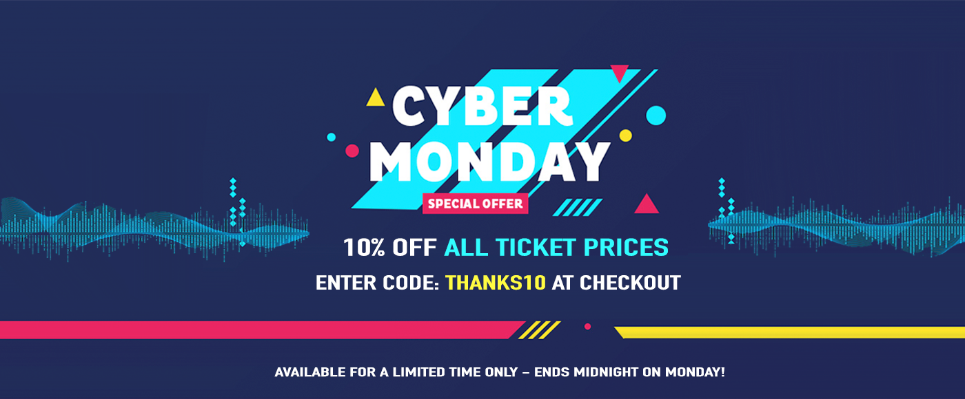 cyber monday concert tickets 2018