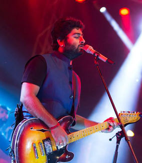 Arijit Singh at Oracle Arena