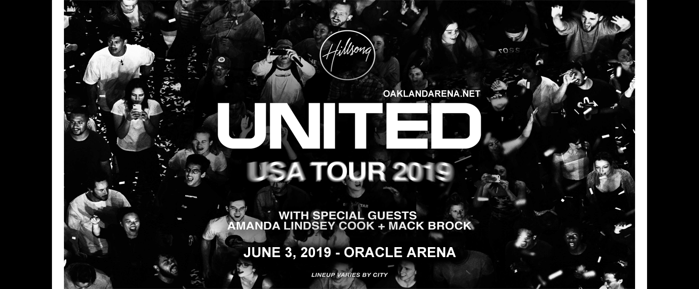 Hillsong United Tickets | 3rd June | Oracle Arena in ...