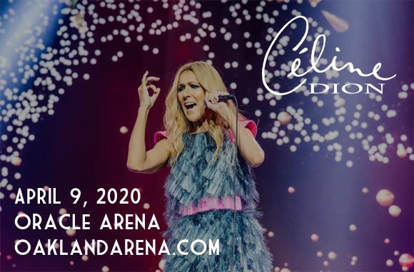 Celine Dion at Oracle Arena