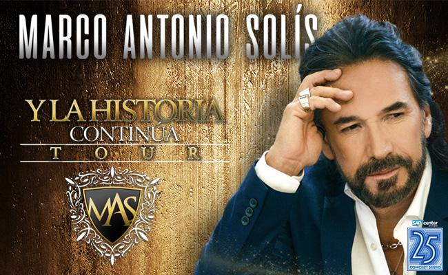 Marco Antonio Solis at Oracle Arena