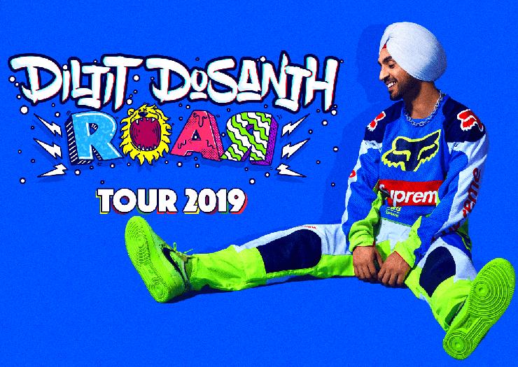 Diljit Dosanjh at Oracle Arena