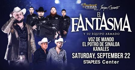 El Fantasma at Oracle Arena