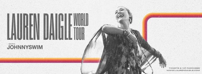 Lauren Daigle & Johnnyswim [CANCELLED] at Oakland Arena
