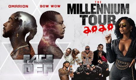 The Millennium Tour: Omarion, Bow Wow, Pretty Ricky, Ying Yang Twins, Soulja Boy & Ashanti at Oakland Arena