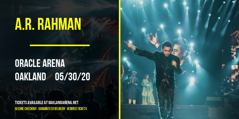 A.R. Rahman at Oakland Arena