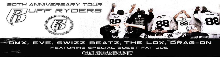 Ruff Ryders: DMX, Eve & Swizz Beatz at Oracle Arena
