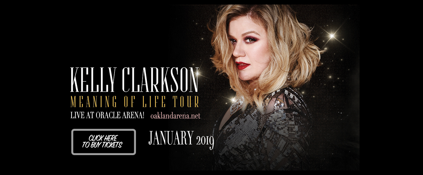 Kelly Clarkson at Oracle Arena
