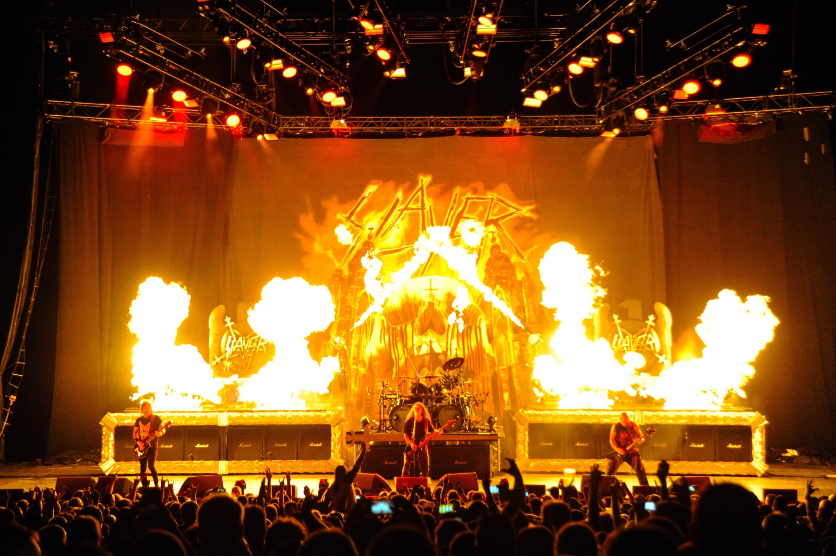 Slayer at Oracle Arena